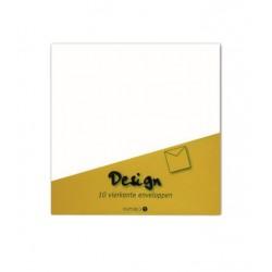 Envelop Papyrus 140x140mm wit