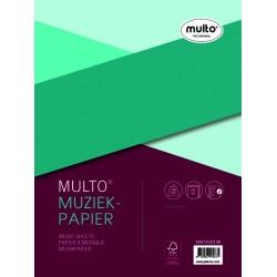 Interieur Multo muziekpapier A4 23-rings 50vel