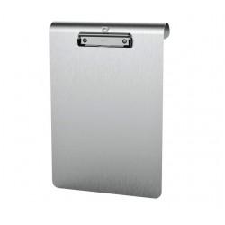 Klembord MAUL Medic A4 staand met RVS klem aluminium
