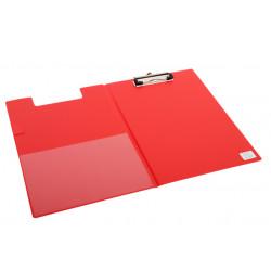 Klembordmap Quantore A4 rood met 100mm klem + penlus