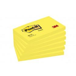 Memoblok 3M Post-it 655 76x127mm neon geel