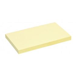 Memoblok Quantore 76x127mm geel