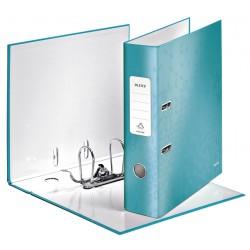 Ordner Leitz WOW 180° A4 80mm ijsblauw