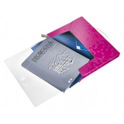 Documentenbox Leitz WOW 30mm A4 PP roze