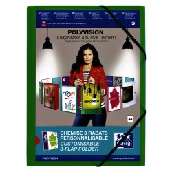 Elastomap Oxford Polyvision A4 groen