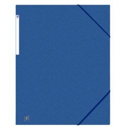 Elastomap Oxford Top File+ A3 blauw