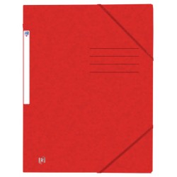 Elastomap Oxford Top File+ A4 rood