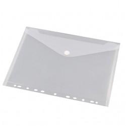 Enveloptas HF2 A4 240x310mm 11-gaats PP transparant wit
