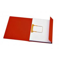 Clipmap  Secolor A4 1 klep 270gr rood