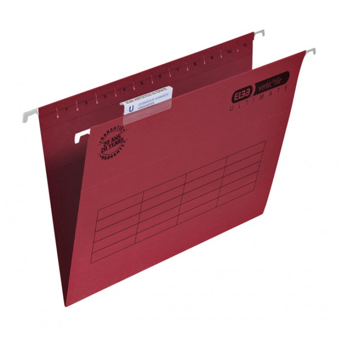 Hangmap Elba Verticfile Ultimate folio V bodem rood