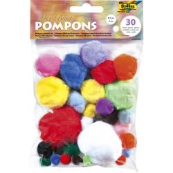 Pompoms Folia assorti