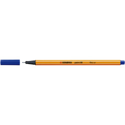 Fineliner STABILO point 88/41 blauw