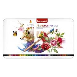 Kleurpotloden Bruynzeel Expression colour blik à 72 stuks assorti