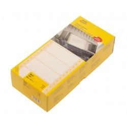 Etiket Avery Zweckform 3615 88.9x35.7mm 1-baans wit 4000stuk