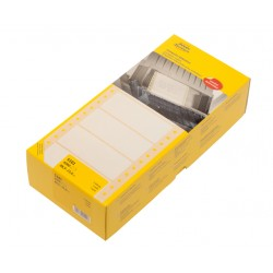 Etiket Avery Zweckform 5101 88.9x23mm 1-baans wit 6000stuks