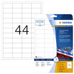 Etiket Herma 4690 48.3x25.4mm wit 1100stuks