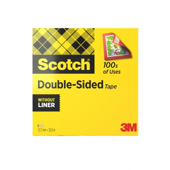 Dubbelzijdige plakband Scotch ATG924 12mmx33m