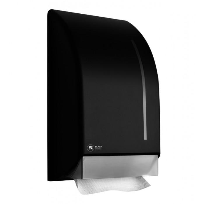 Dispenser BlackSatino voor handdoeken zigzag gevouwen