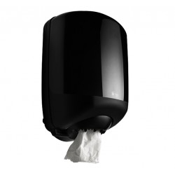 Dispenser BlackSatino Midi voor poetsrollen