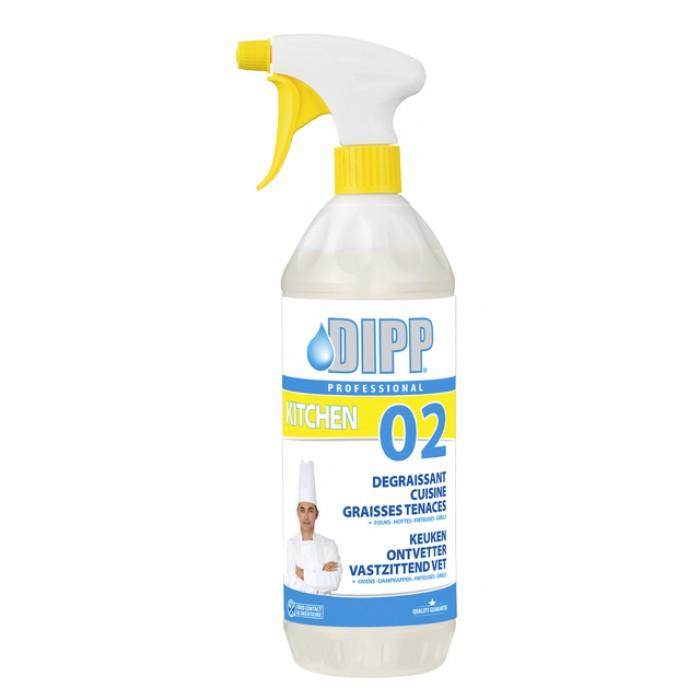 Keukenontvetter DIPP spray krachtig 1L
