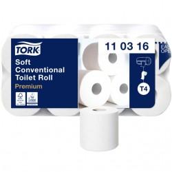 Toiletpapier Tork T4 110316 Premium 3laags 250vel 8rollen wit