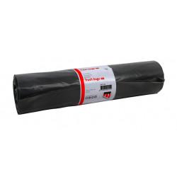 Afvalzak Quantore LDPE T50 60L grijs extra stevig 25 stuks