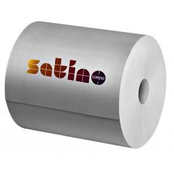 Poetsrol Satino/Wepa Premium 2-laags 25cmx370m wit 2rollen