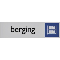 Infobord pictogram berging 165x44mm