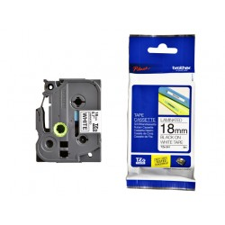 Labeltape Brother P-touch TZE-241 18mm zwart op wit