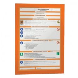 Duraframe Durable 487209 A4 oranje