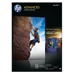 Inkjetpapier HP Q5456A A4 advanced 250gr 25vel