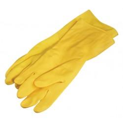 Handschoen huishoud Felicia geel medium