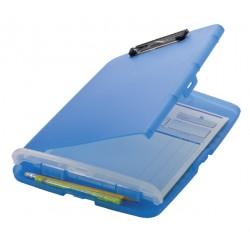 Klembordkoffer Oic 83322 kunststof kopklem blauw