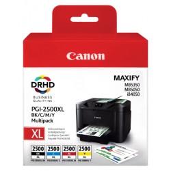 Inkcartridge Canon PGI-2500XL zwart + kleur HC