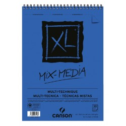 Aquarelblok Canson  XL Mix Media  A3 300gr 30vel spiraal