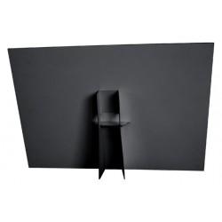 Foamboard steun A3 178X190mm zwart