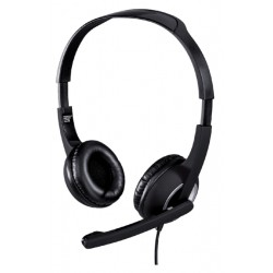 Hoofdtelefoon Hama HS-P150 PC-Office over ear zwart