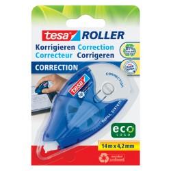Correctieroller Tesa ecoLogo 4.2mmx14m eco navulbaar op blister