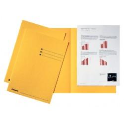 Inlegmap Esselte 180gr karton geel