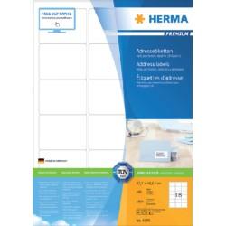 Etiket Herma 4265 63.5x46.6mm premium wit 1800stuks