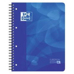 Projectboek Oxford A4+ 4-gaats lijn 120vel blauw