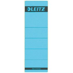 Rugetiket Leitz breed/kort 62x192mm zelfklevend blauw