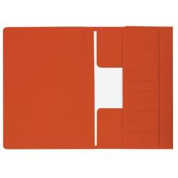Dossiermap Jalema Mammoet 270gr folio rood 10stuks