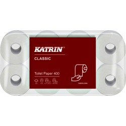 Toiletpapier Katrin 14293 Classic 400 2laags 48rollen