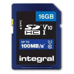 Geheugenkaart Integral SDHC V10 16GB