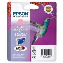 Inkcartridge Epson T0806 lichtrood