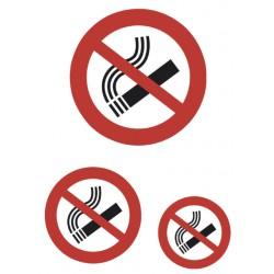 Etiket Herma 5736 niet roken 3stuks
