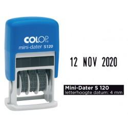 Datumstempel Colop S120 mini-dater 4mm