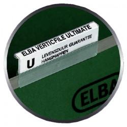 Ruiterstrook tbv Elba Verticfile ruiters 65x16mm wit