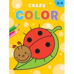 Kleurboek Deltas crazy color 3-4 jaar